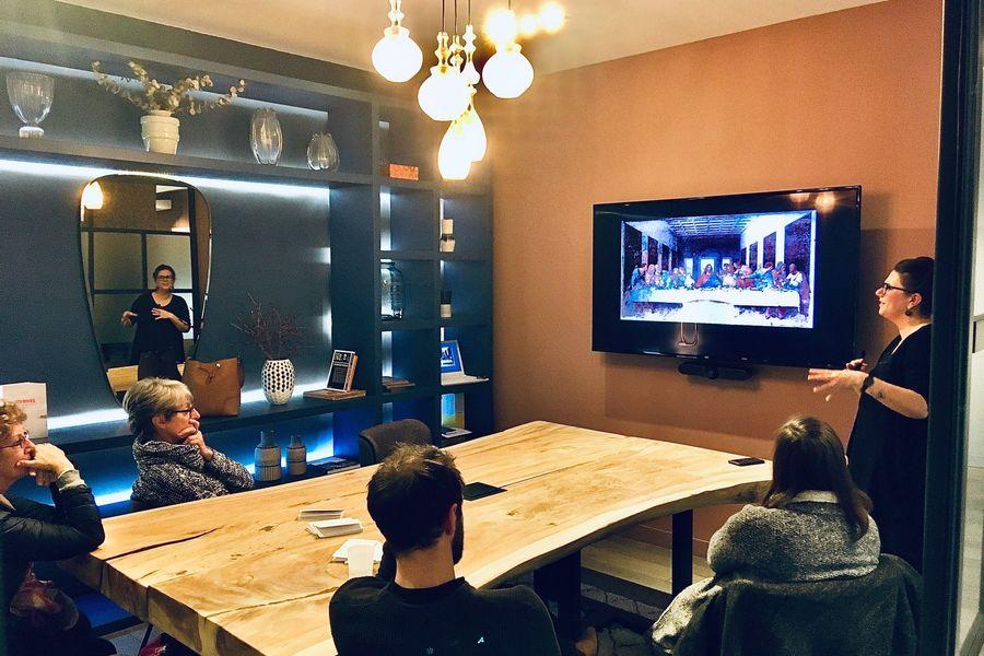 La Galerie QUARTUS Mini-conférence_salle de réunion