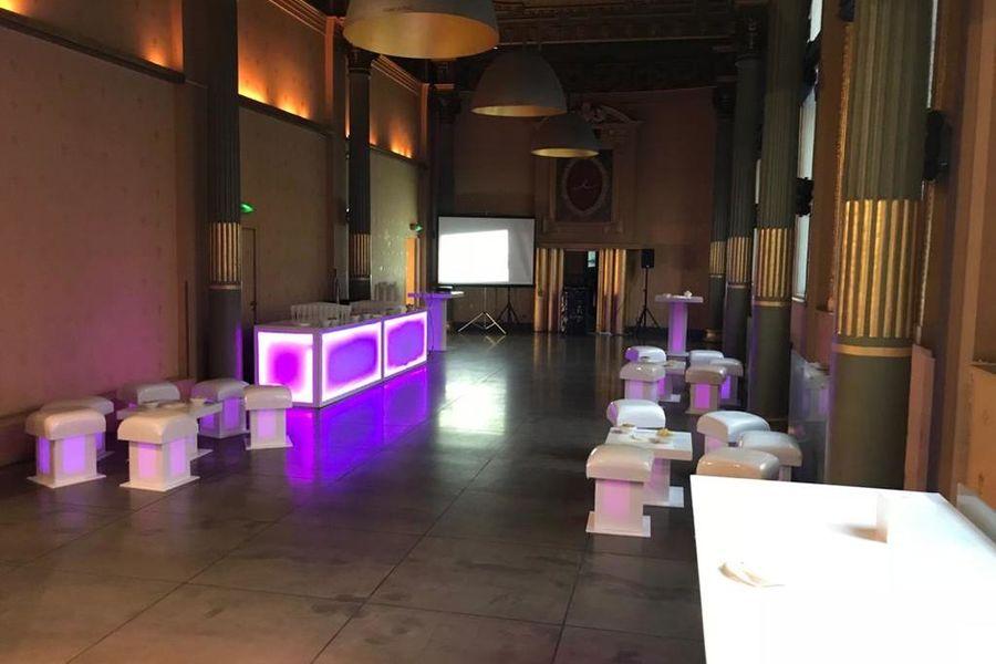 Normandy Le Chantier Palazzo soirée (130m²+34m² vestiaire ; lumière du jour)