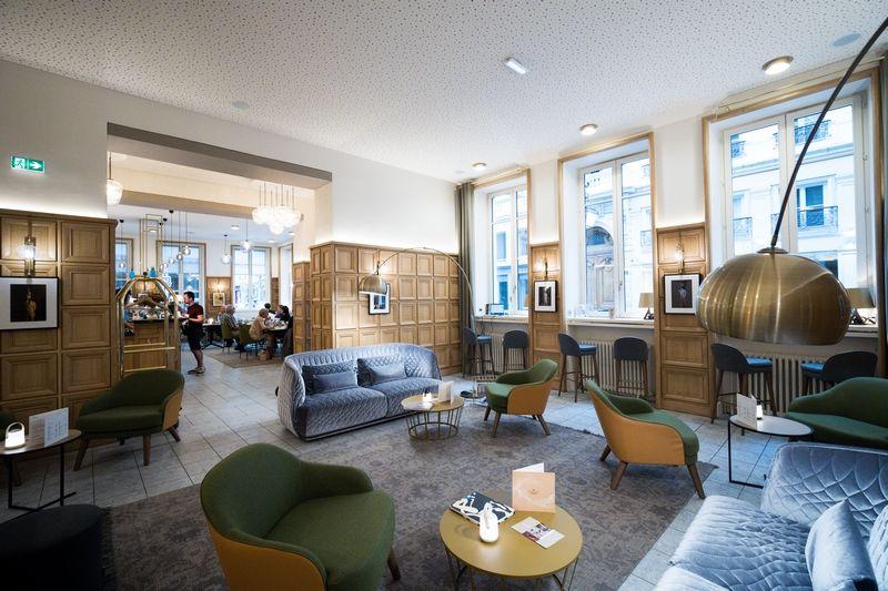 Hôtel Globe et Cecil ****  Salon