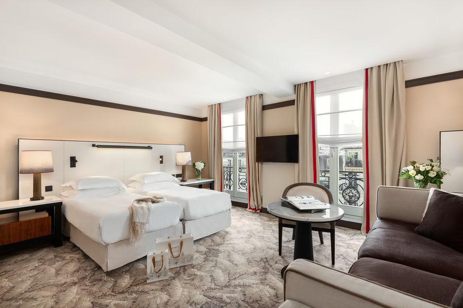 Hyatt Paris Madeleine ***** Junior Suite Twin