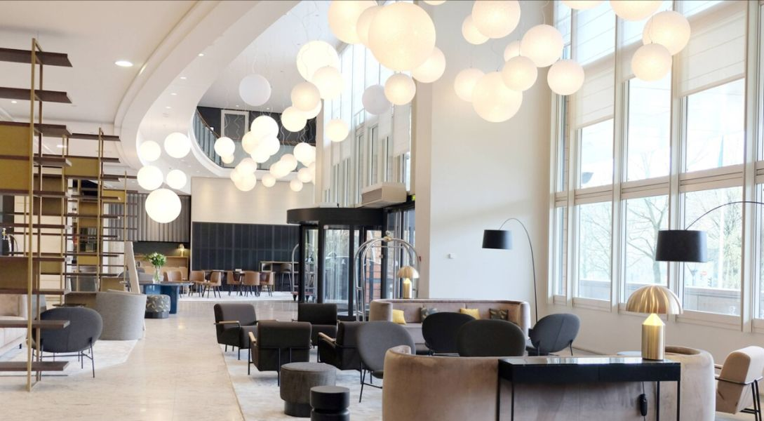 Hôtel Marriott Lyon Cité Internationale **** Lobby