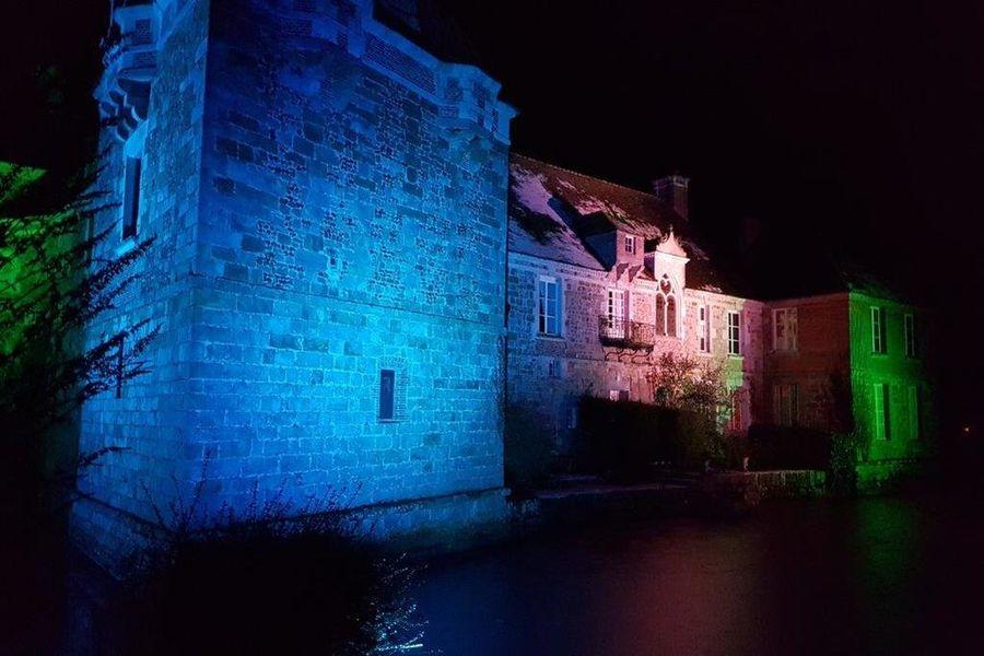 Château du Blanc Buisson Château du Blanc Buisson illumination