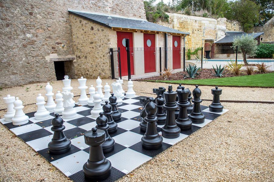 En Rou Libre Jeu d'échecs géant