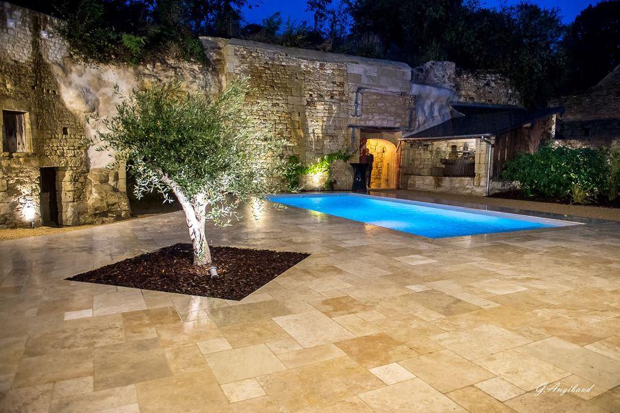 En Rou Libre Vue piscine