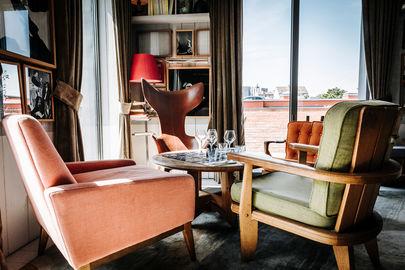 Ambiance lounge et cosy 1er étage