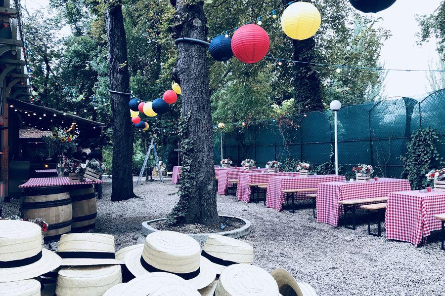 Chalet du Lac de Saint-Mande Cocktail dinatoire, summer party