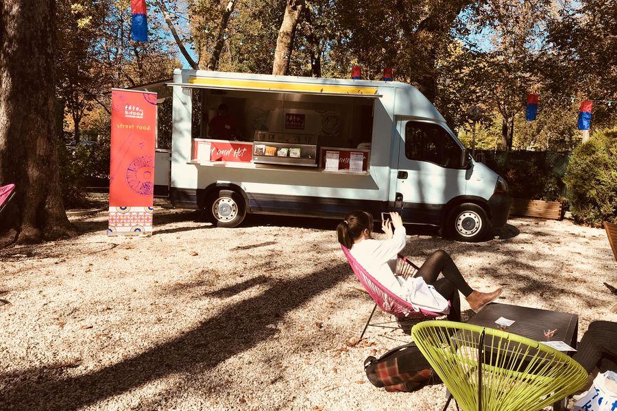 Chalet du Lac de Saint-Mande Food truck