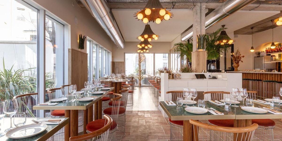 Restaurant Laïa  Vue depuis la terrasse