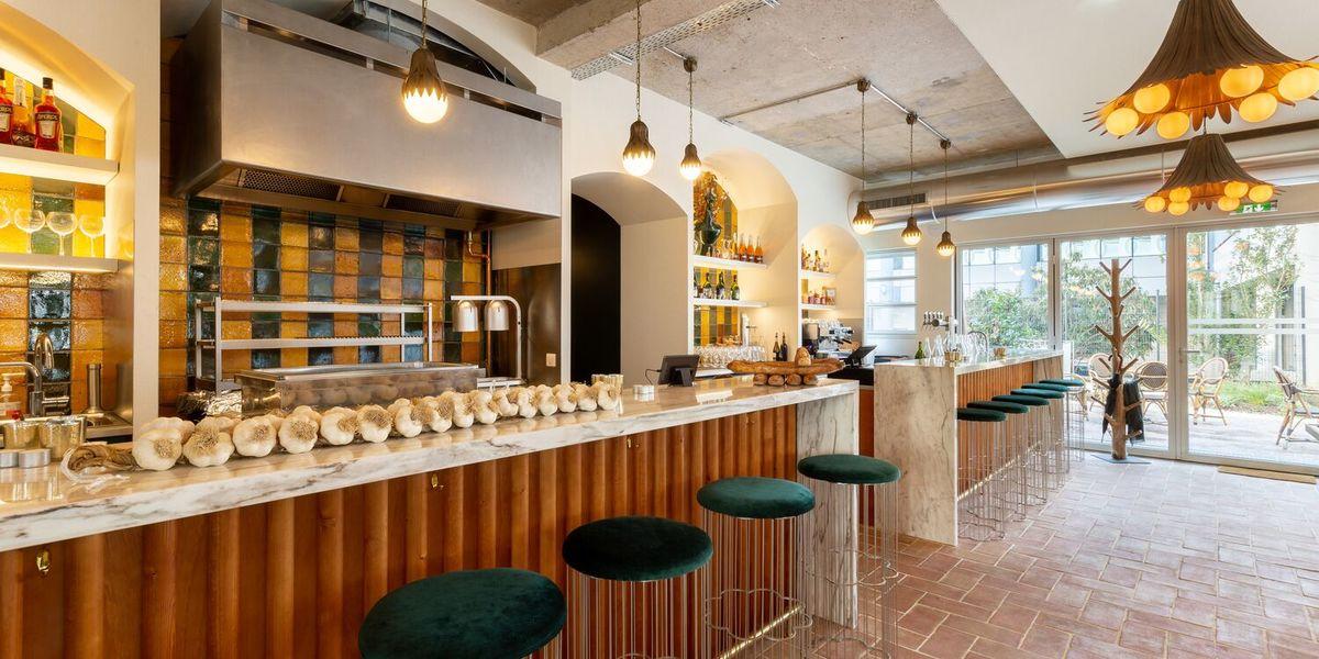 Restaurant Laïa  Entrée Robata