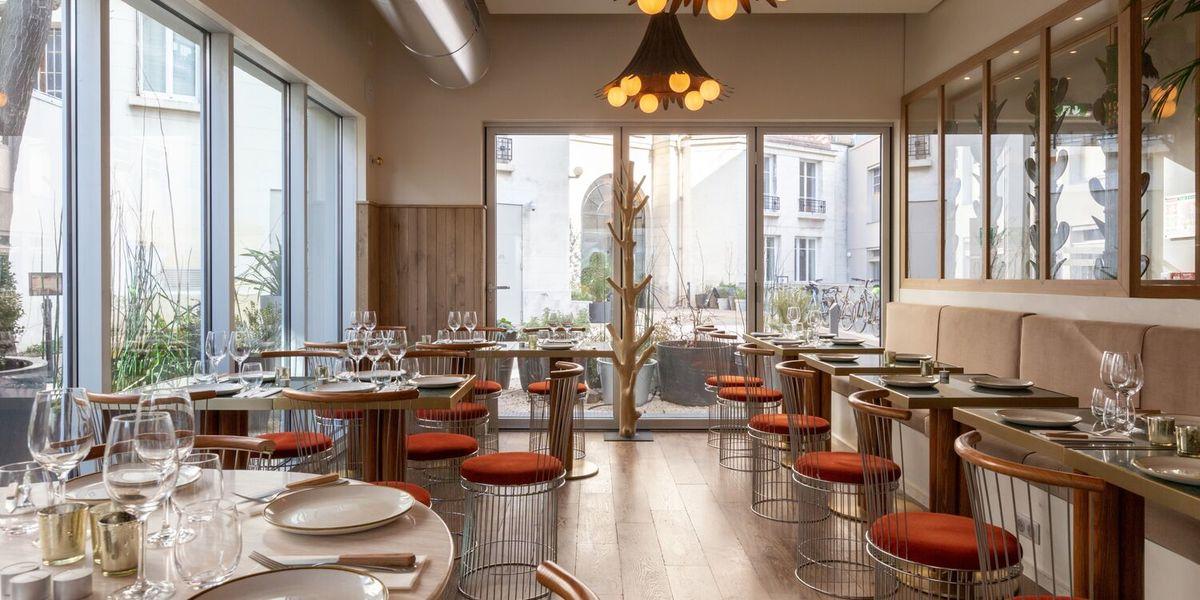 Restaurant Laïa  Vue de la salle banquette