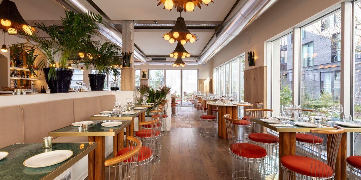 Restaurant Laïa  Vue depuis banquette