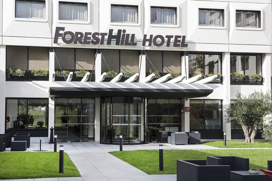 Hôtel Forest Hill Meudon Vélizy **** Entrée côté jardin