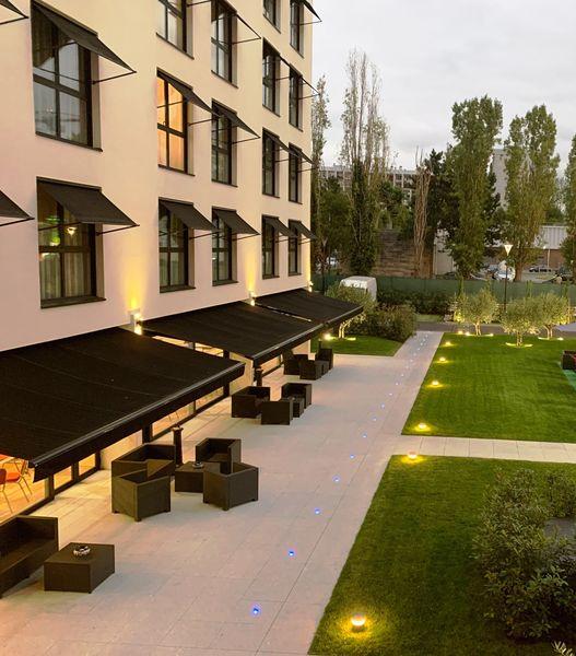 Hôtel Forest Hill Meudon Vélizy **** Jardin