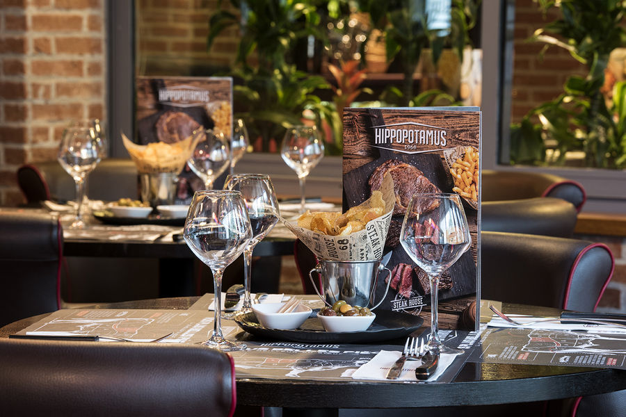 Hôtel Forest Hill Meudon Vélizy **** Restaurant Hippopotamus