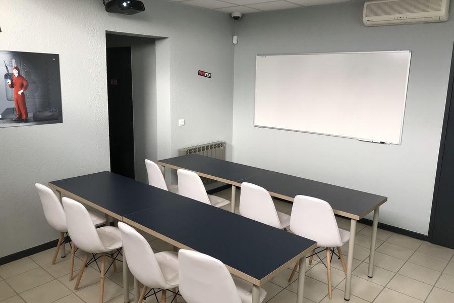 EComWork Salle de reunion CASA DE PAPEL en classe