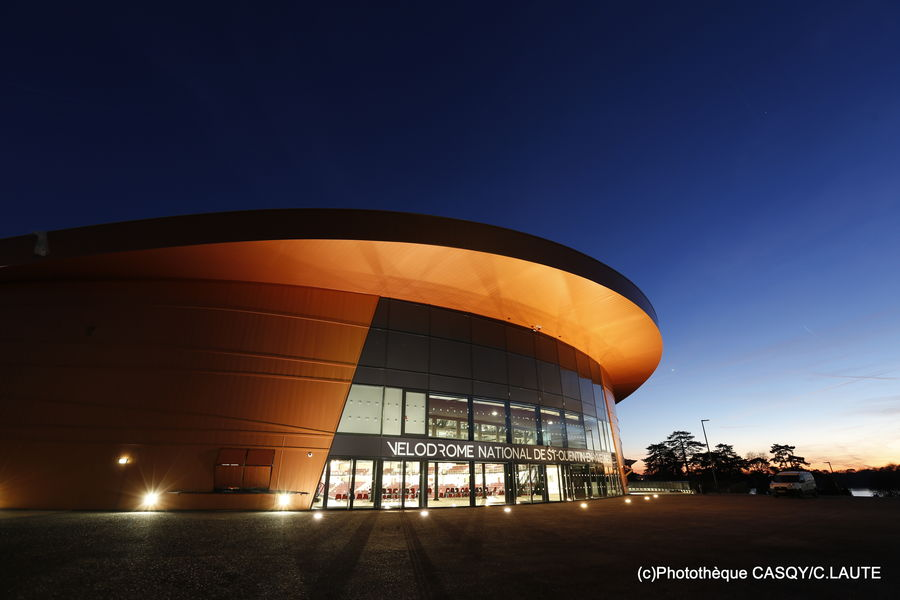 Vélodrome National de Saint-Quentin-en-Yvelines Vélodrome National - Enceinte olympique - Paris 2024