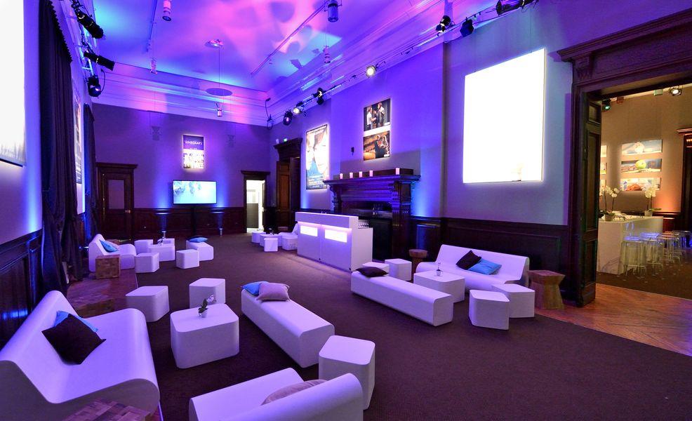 Villa Le Cercle  La Rotonde lounge