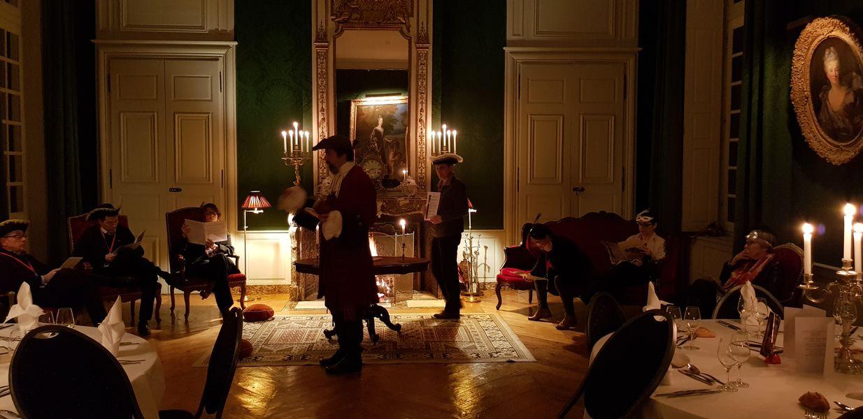Château de Parentignat Murder Party