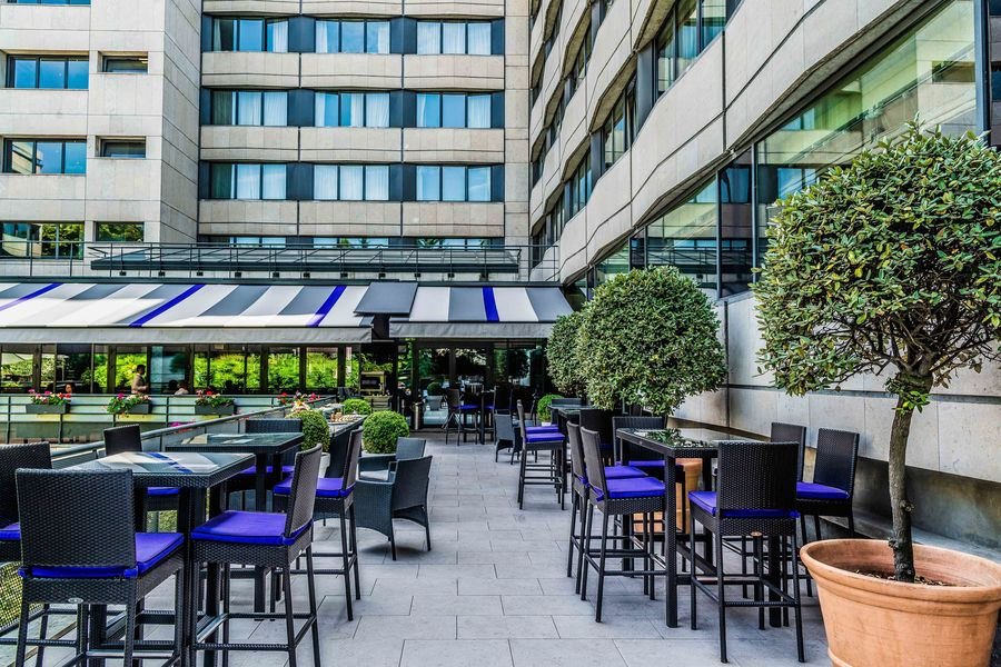 Crowne Plaza Paris - Neuilly **** Terrasse