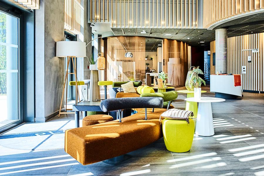 Hôtel Novotel Paris Cœur d'Orly Aéroport RECEPTION