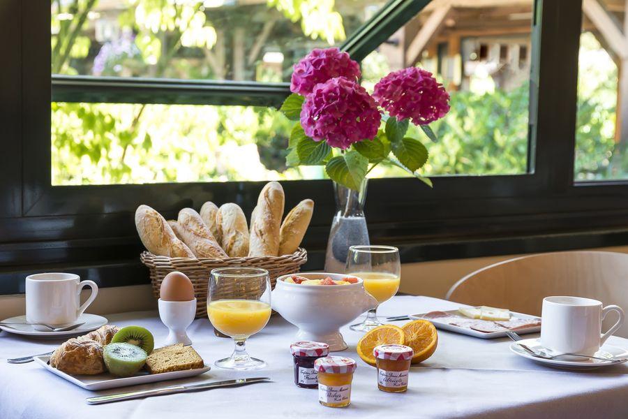 Najeti Hôtel du parc *** Petit-déjeuner