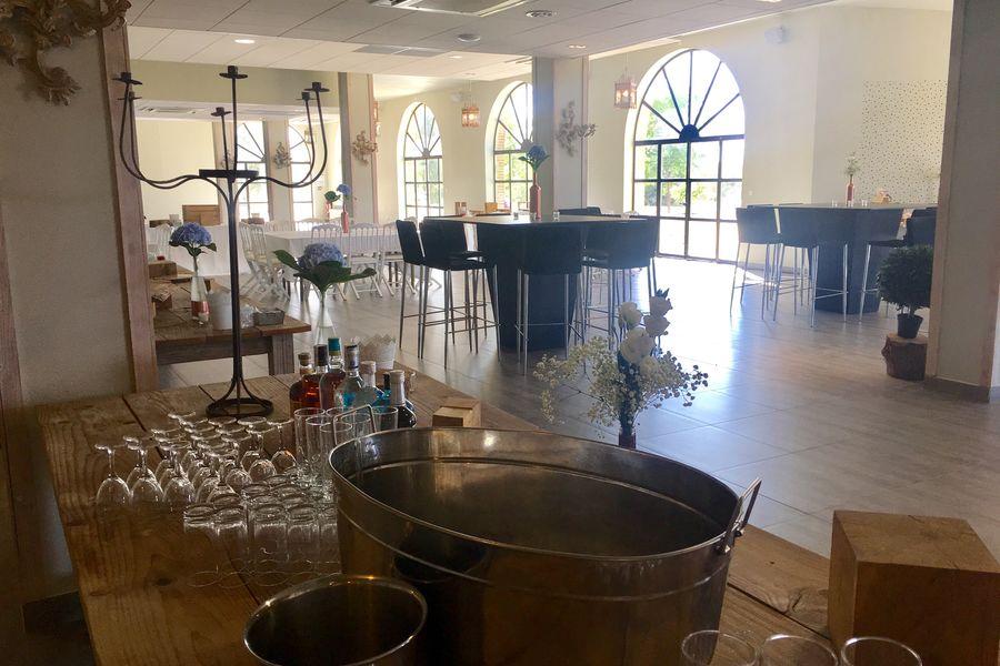 Comptoir Saint Hilaire Orangerie salle de réception