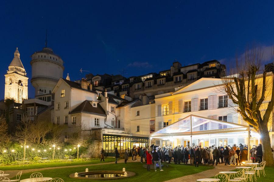 Musée de Montmartre Lancement de produit en hiver