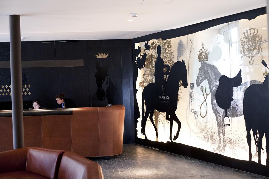 Hotel Les Haras de Strasbourg**** Lobby