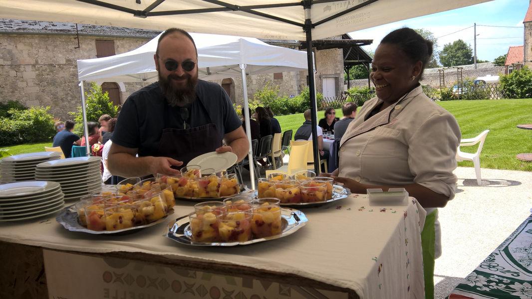 La Croisée des Possibles Votre repas en terrasse à La Croisée des Possibles