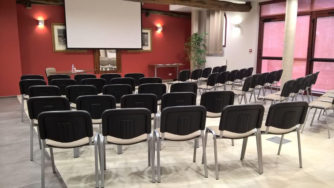 La Croisée des Possibles Votre lieu avec sa salle configurée pour votre conférence