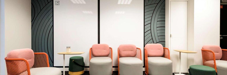 Wellio Paris Gare de Lyon Salle de réunion pour 8 personnes - format lounge / informel - FLAMENG