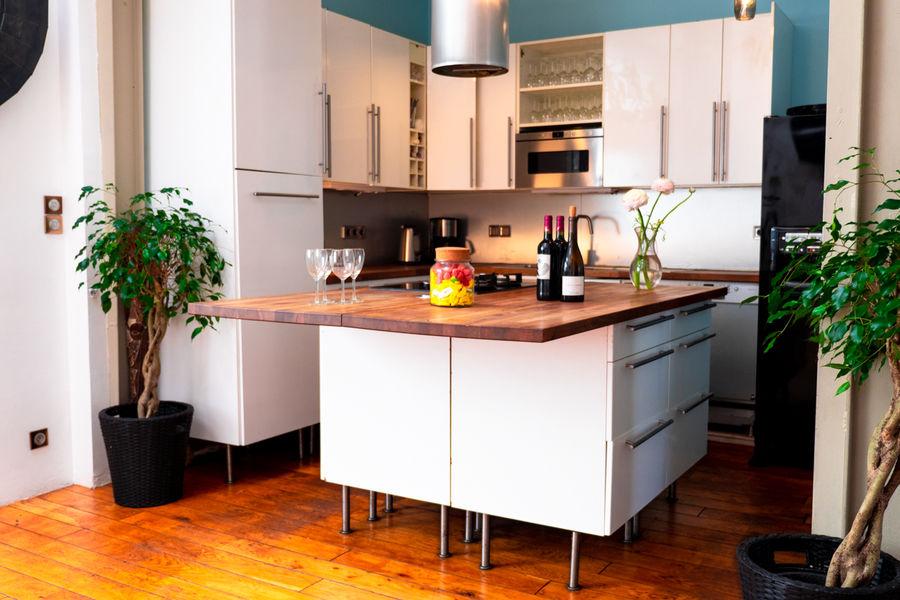 """Loft Upgrade """"Comme à la maison"""" Cuisine"""