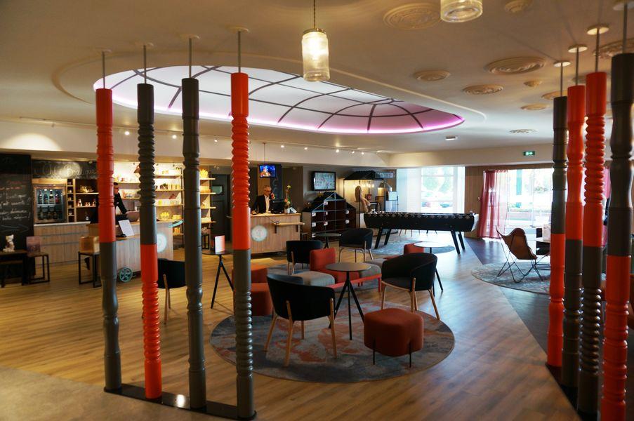 Mercure Lille Aéroport **** Hall de l'hôtel