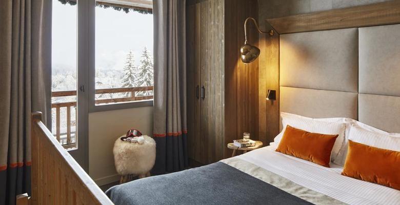 L'Arboisie **** Chambre avec vue Megève