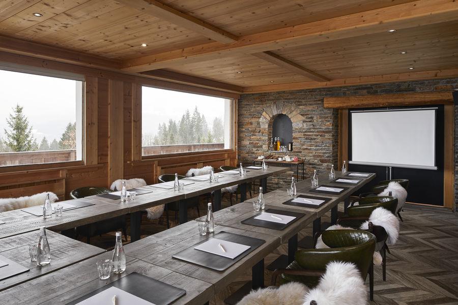 Chalet Hôtel Alpen Valley, Mont-Blanc Salle de séminaire