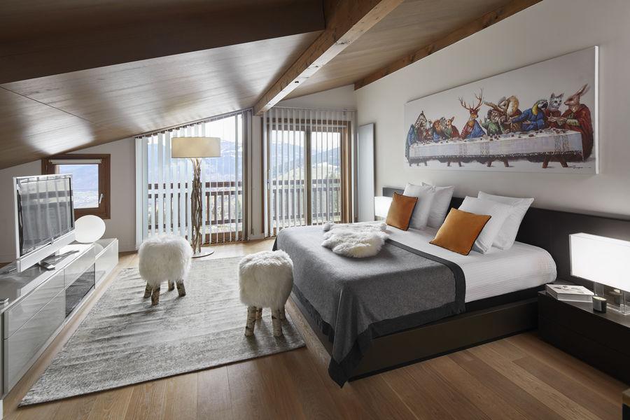 Chalet Hôtel Alpen Valley, Mont-Blanc Rooftop
