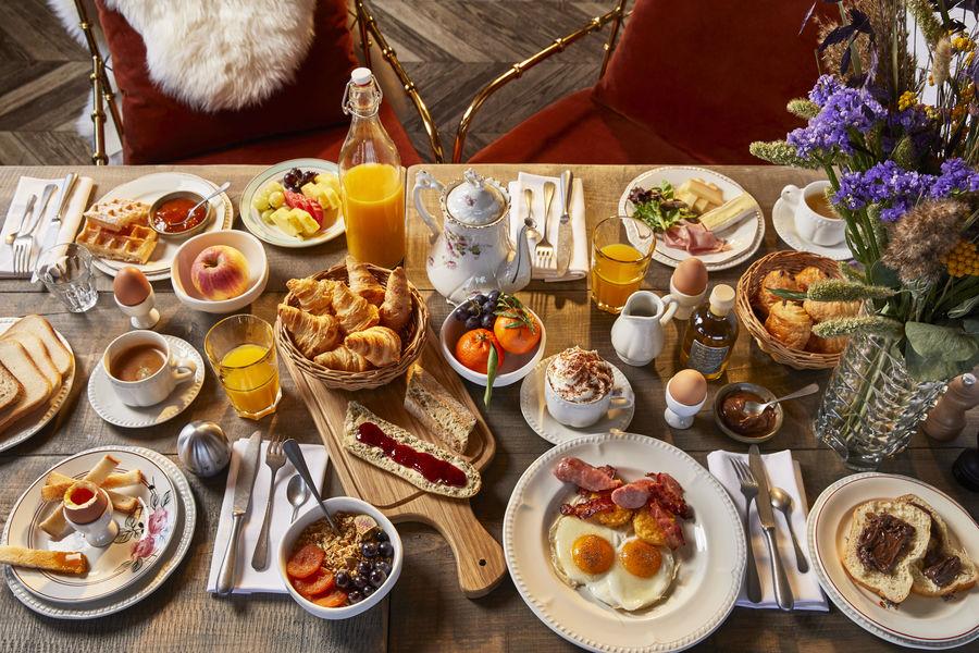 Chalet Hôtel Alpen Valley, Mont-Blanc Petit-déjeuner