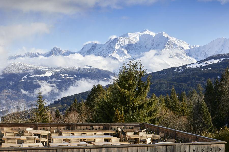 Chalet Hôtel Alpen Valley, Mont-Blanc Terrasse extérieure