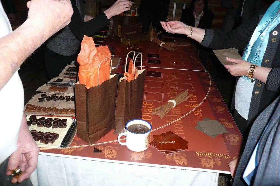 Le RANCH casino chocolat