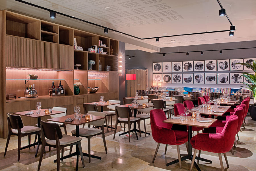 Hôtel NH Lyon Airport **** Restaurant