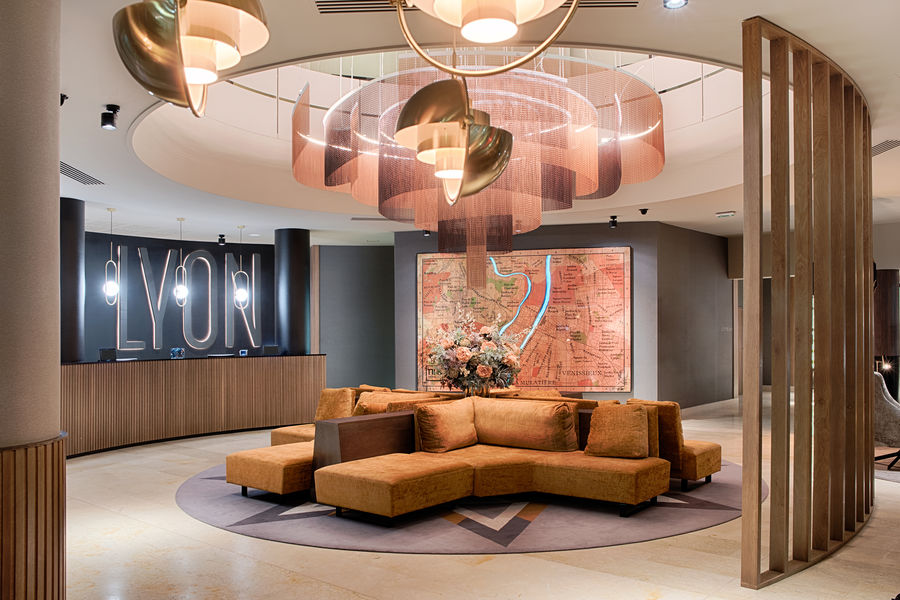 Hôtel NH Lyon Airport **** Lobby