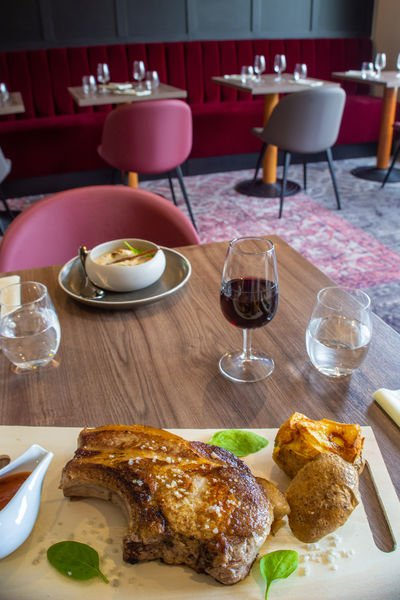 Brit Hotel Caen Nord Memorial *** Restaurant