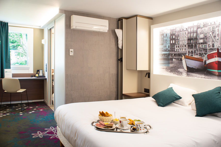 Brit Hotel Caen Nord Memorial *** Chambre double