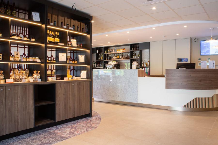 Brit Hotel Caen Nord Memorial *** Accueil