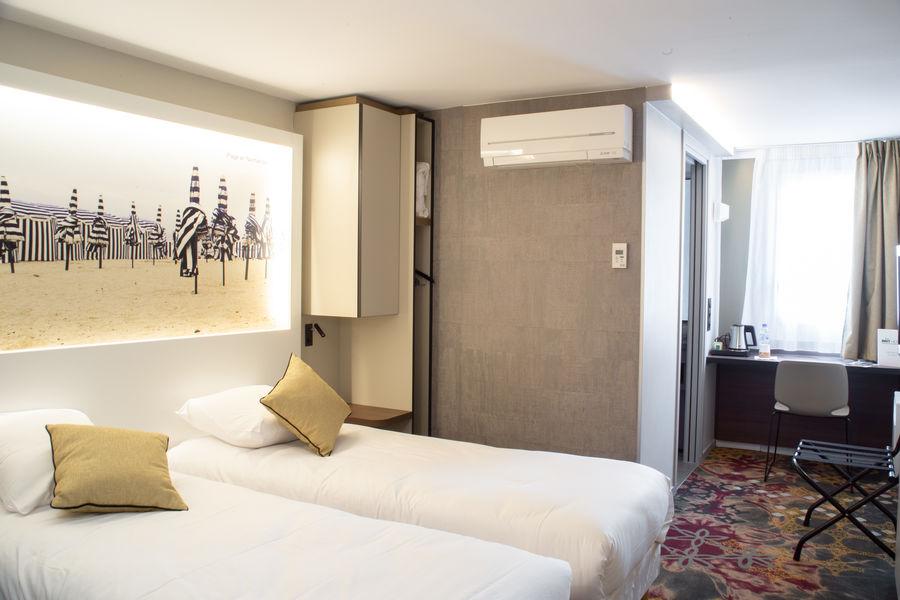 Brit Hotel Caen Nord Memorial *** Chambre twin