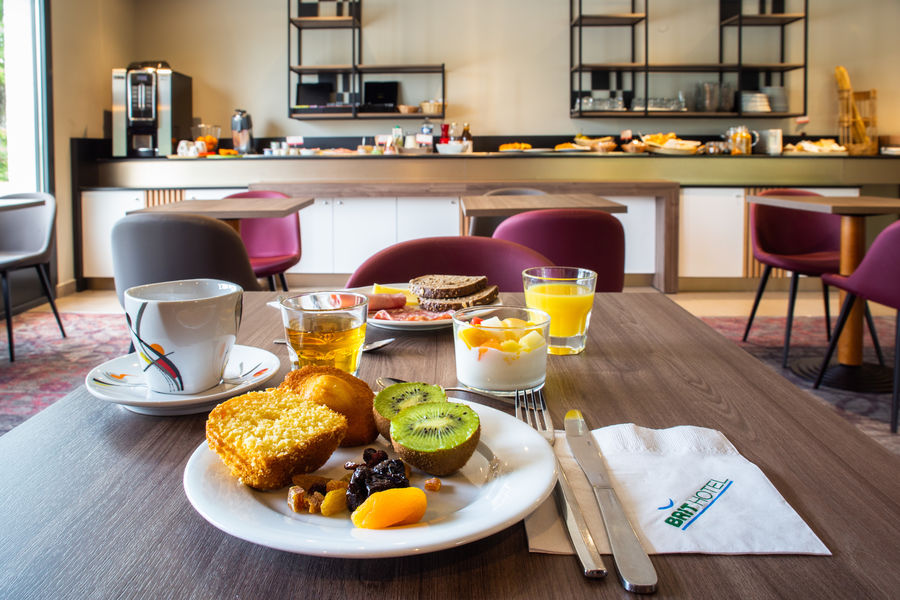 Brit Hotel Caen Nord Memorial *** Petit-déjeuner