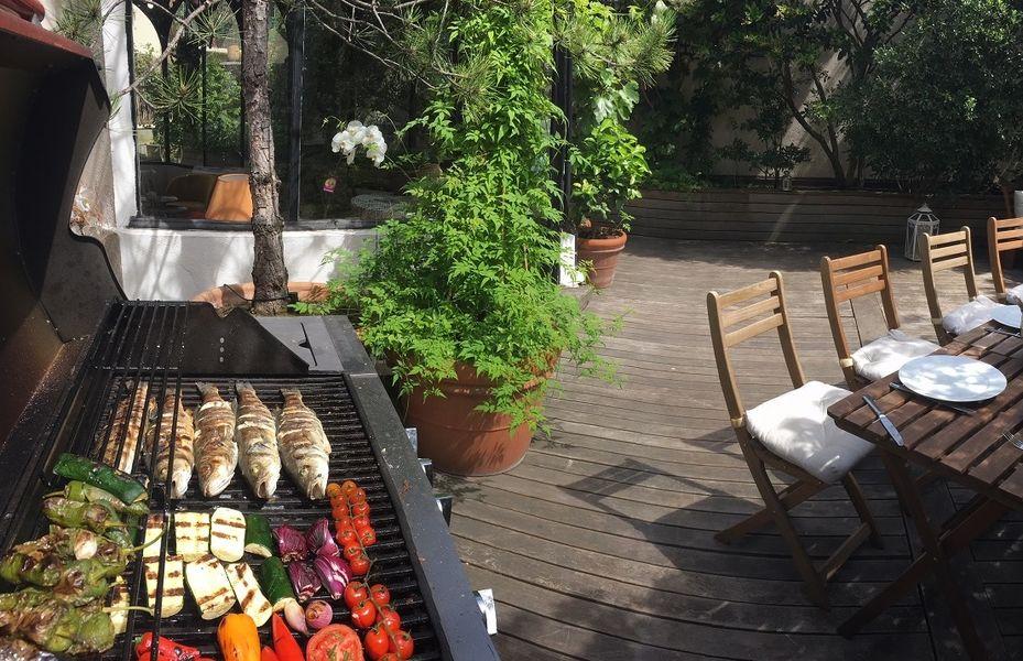 Sourire de Passy Jardin d'hiver et terrasse végétalisée