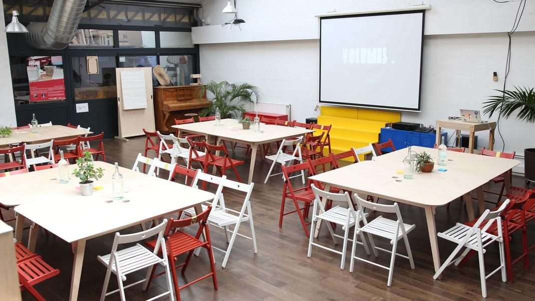 Volumes Paris Open Space workshop