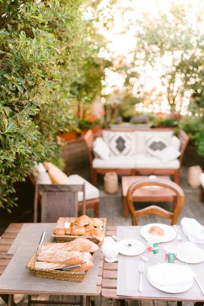 Sourire de Passy Petit déjeuner et pause sur la terrasse rooftop
