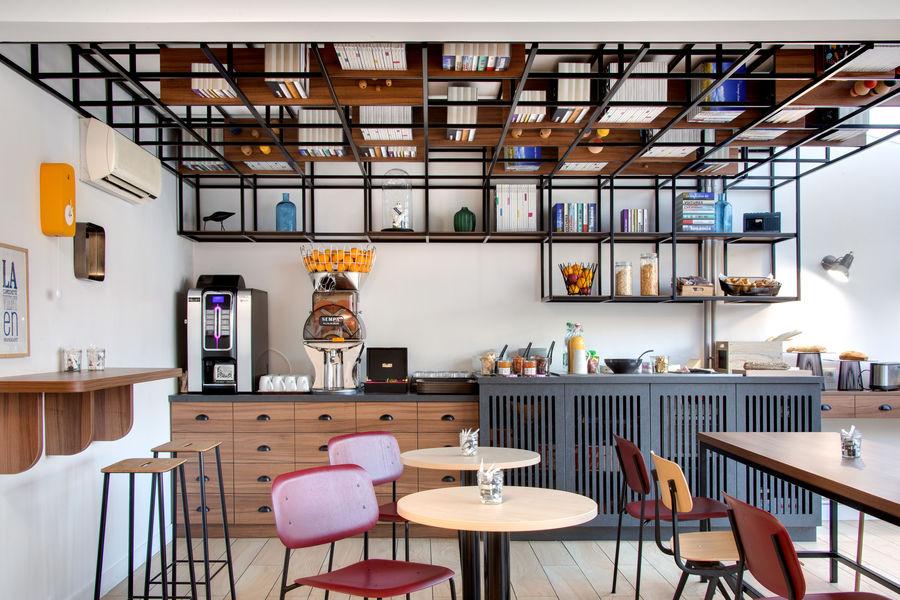 Hôtel ibis Styles Clermont-Ferrand Gare *** salle petit-déjeuner